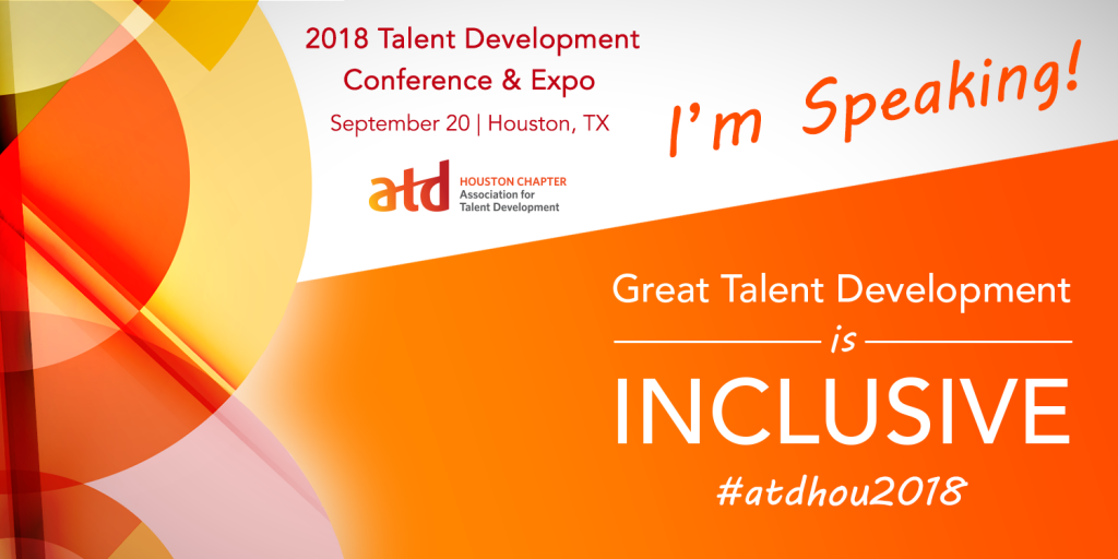 Accelus in action on this very topic on September 20th at 9:45 a.m. at the ATD Houston Talent Development Conference & Expo.